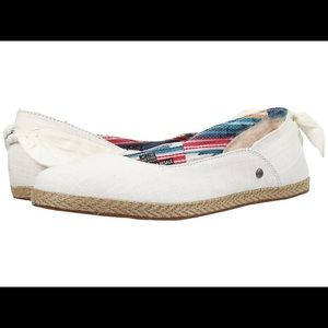 UGG Perrie cotton flats